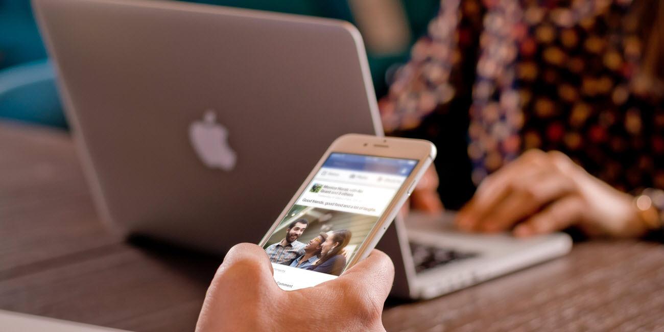 macbook and iphone